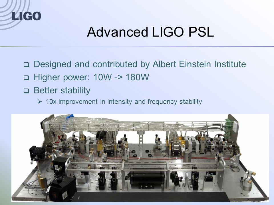 G1200687-v1Advanced LIGO20 LIGO-Virgo Network