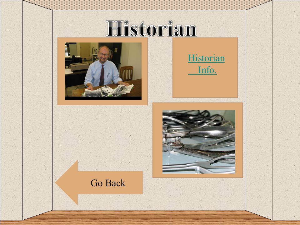 c Go Back Historian Info.