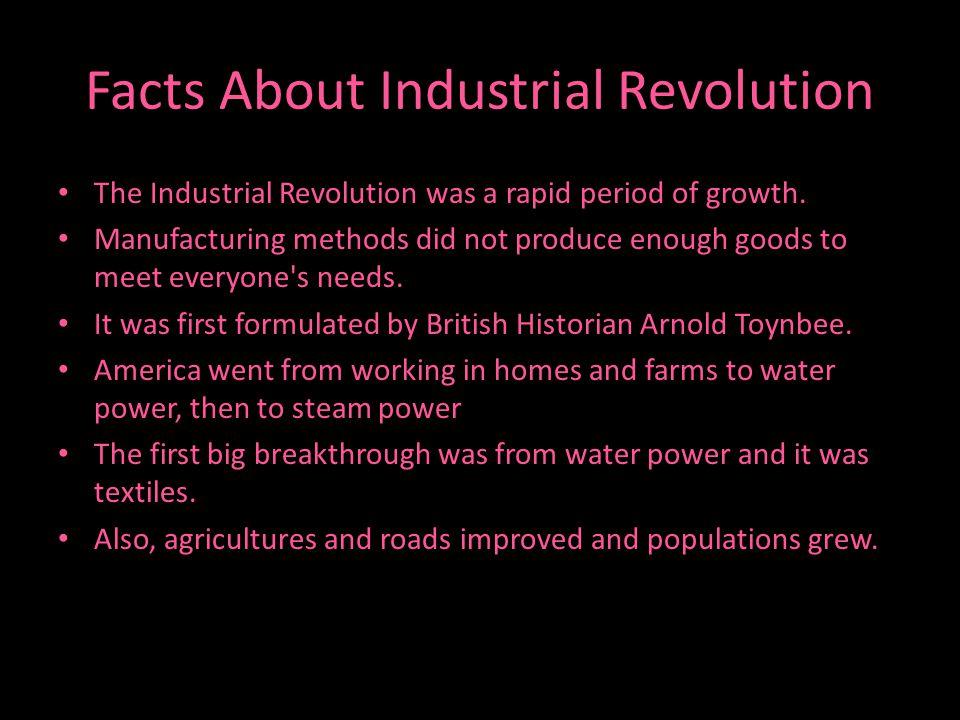 Industrial Revolution Pictures