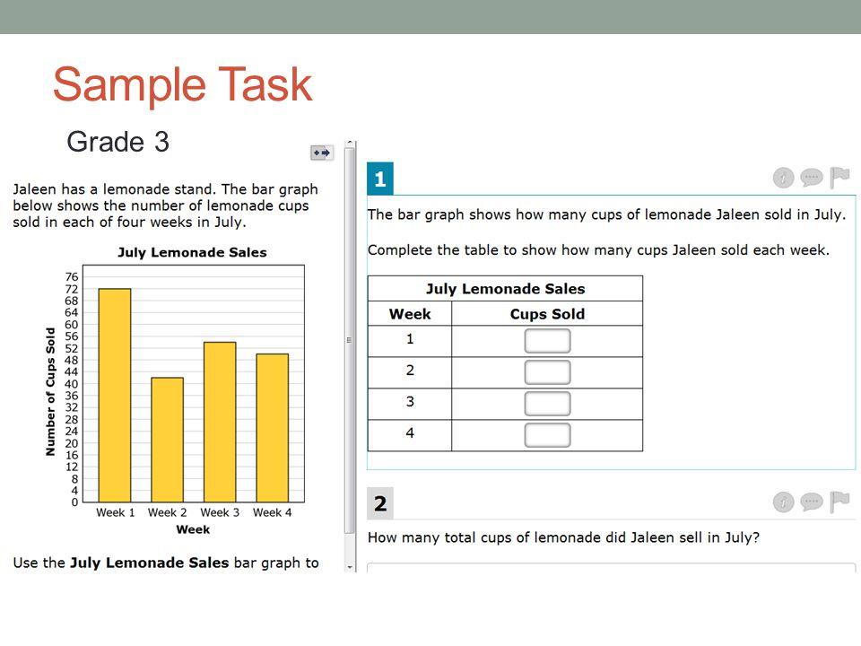 Sample Task Grade 3