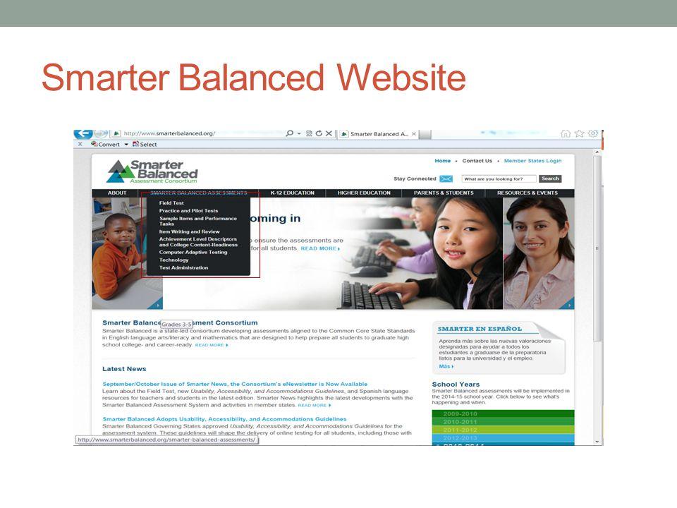Smarter Balanced Website