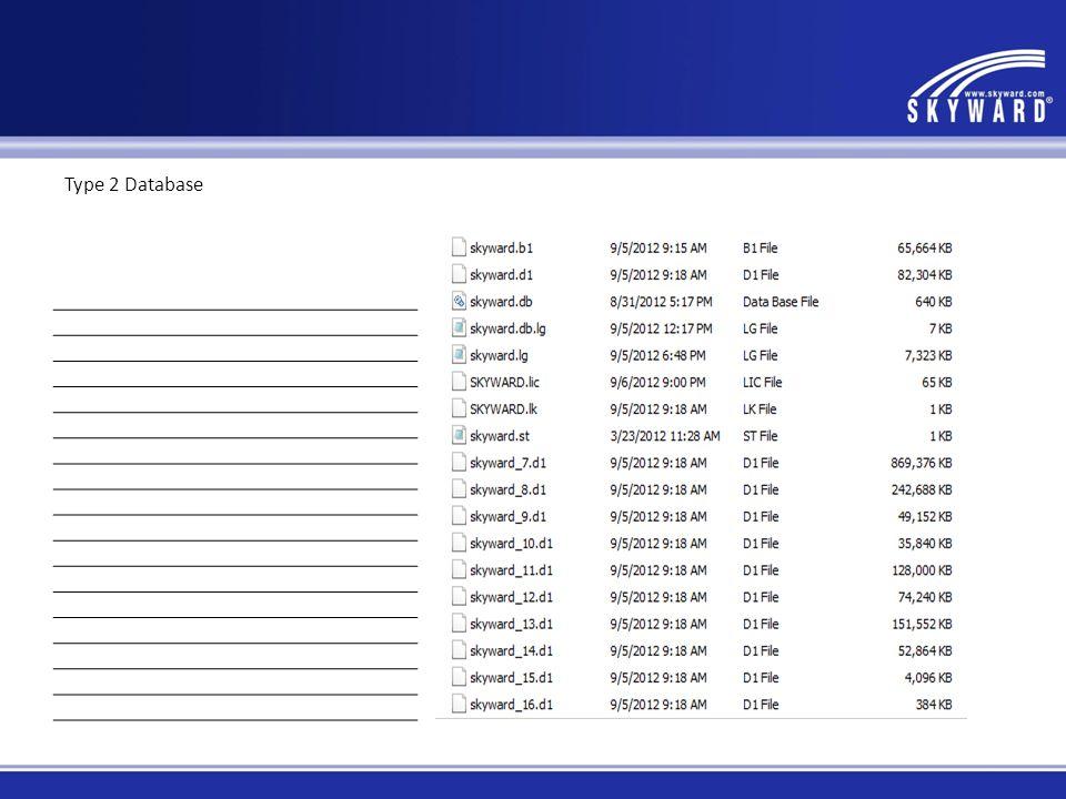 Type 2 Database