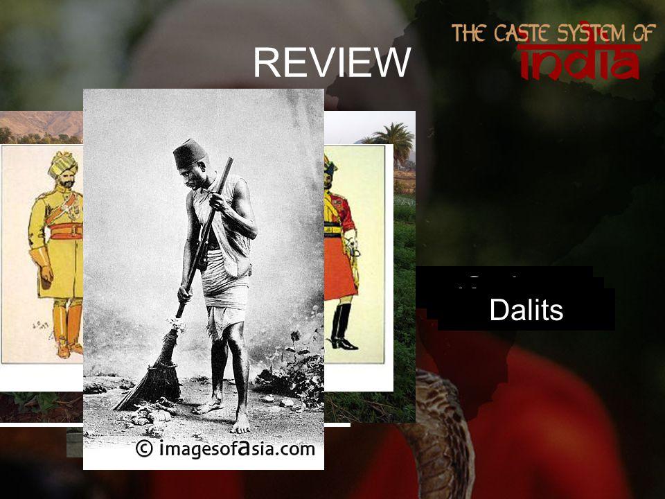 REVIEW Brahmins VaisyasSudra Ksatryas Dalits