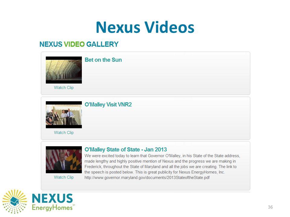 Nexus Videos 36
