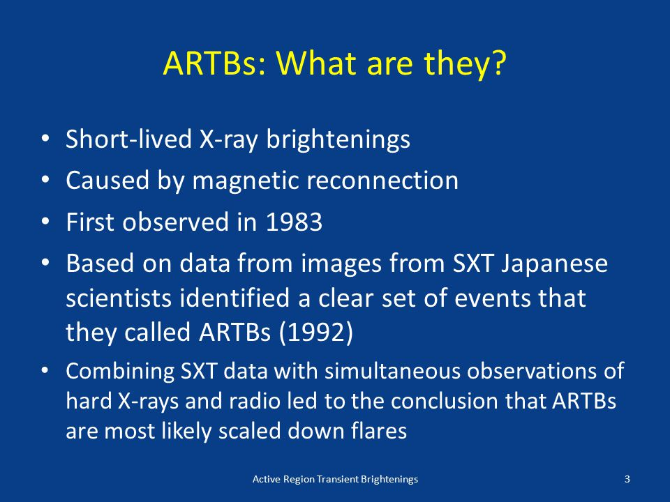 ARTBs: What are they.