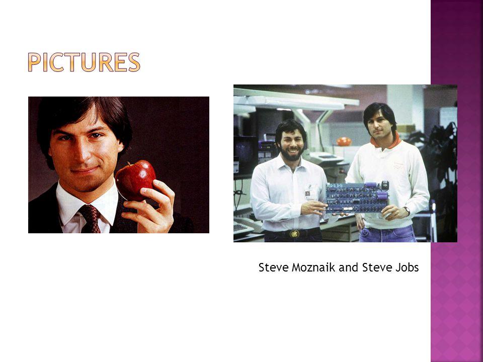 Steve Moznaik and Steve Jobs