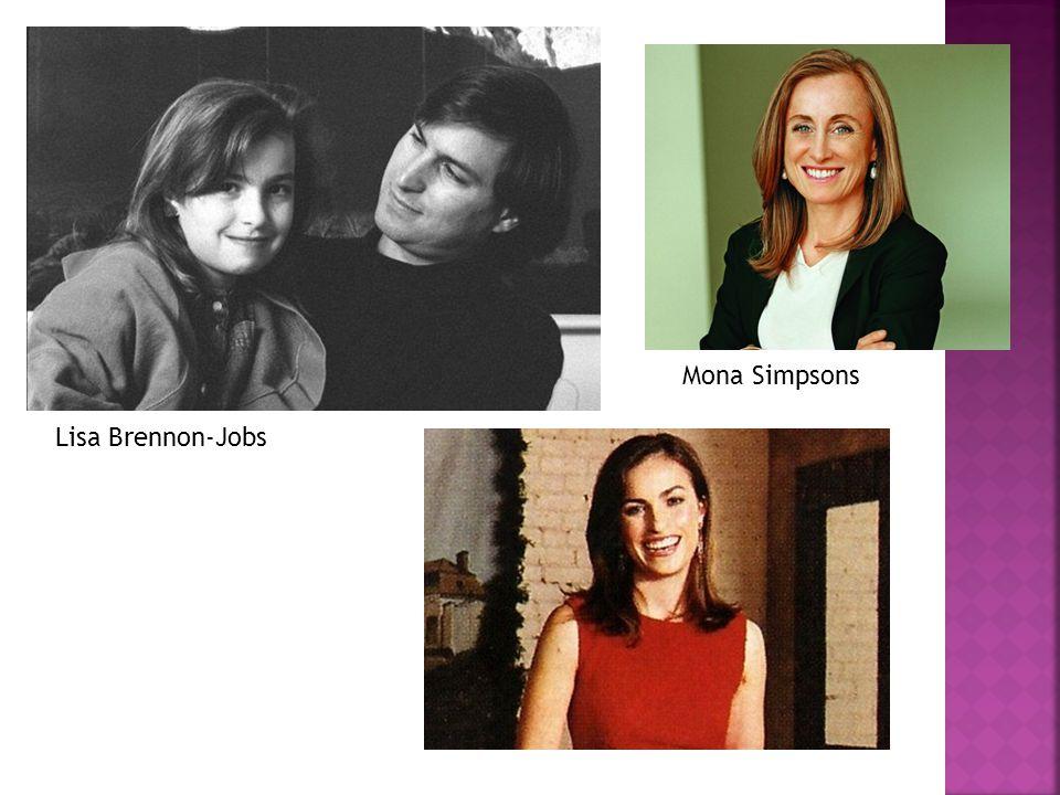 Mona Simpsons Lisa Brennon-Jobs