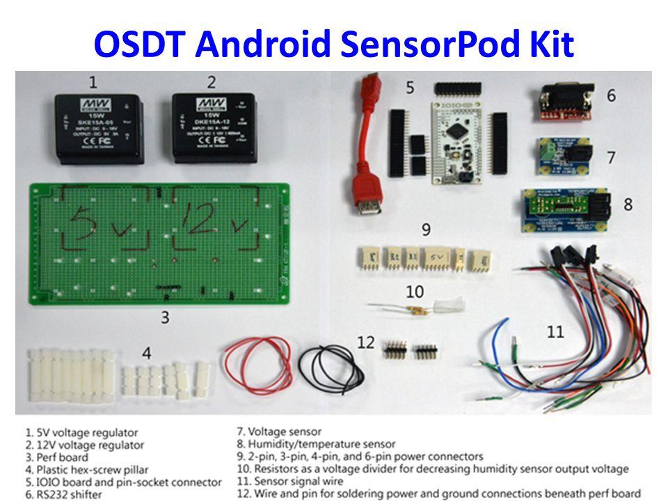 OSDT Android SensorPod Kit