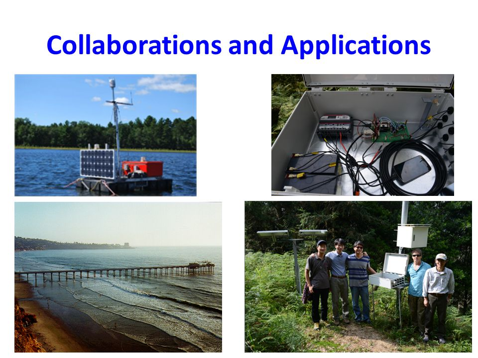 Collaborations and Applications