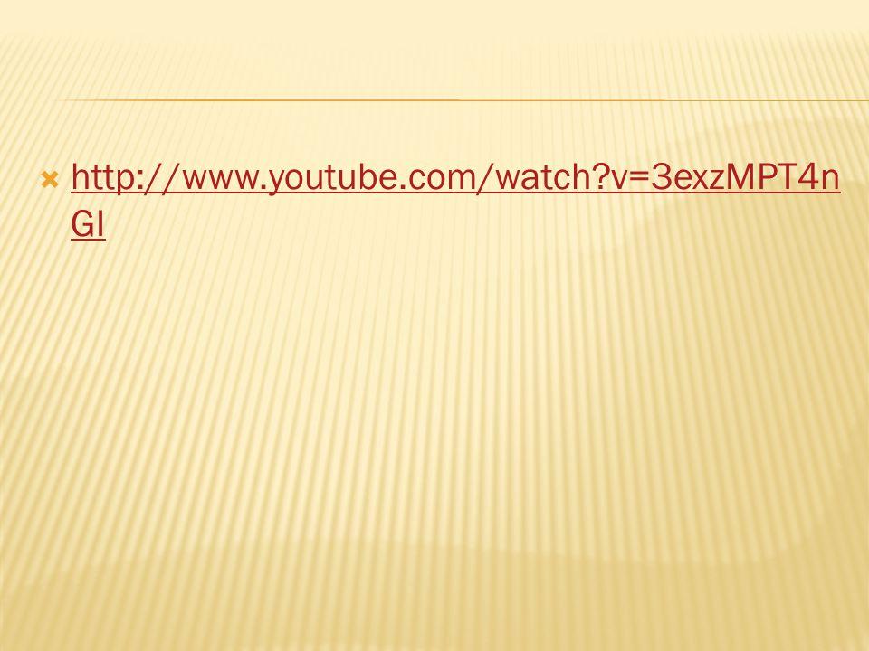  http://www.youtube.com/watch v=3exzMPT4n GI http://www.youtube.com/watch v=3exzMPT4n GI