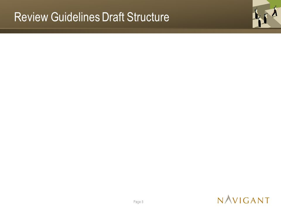 Review Guidelines Draft Structure Page 8