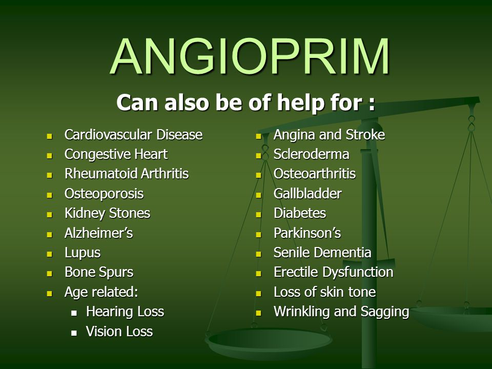 ANGIOPRIM SAFE Angioprim is a synergistic combination of Amino acids that are the building block of proteins, are essential elements of good health, and are recognizable by the body.