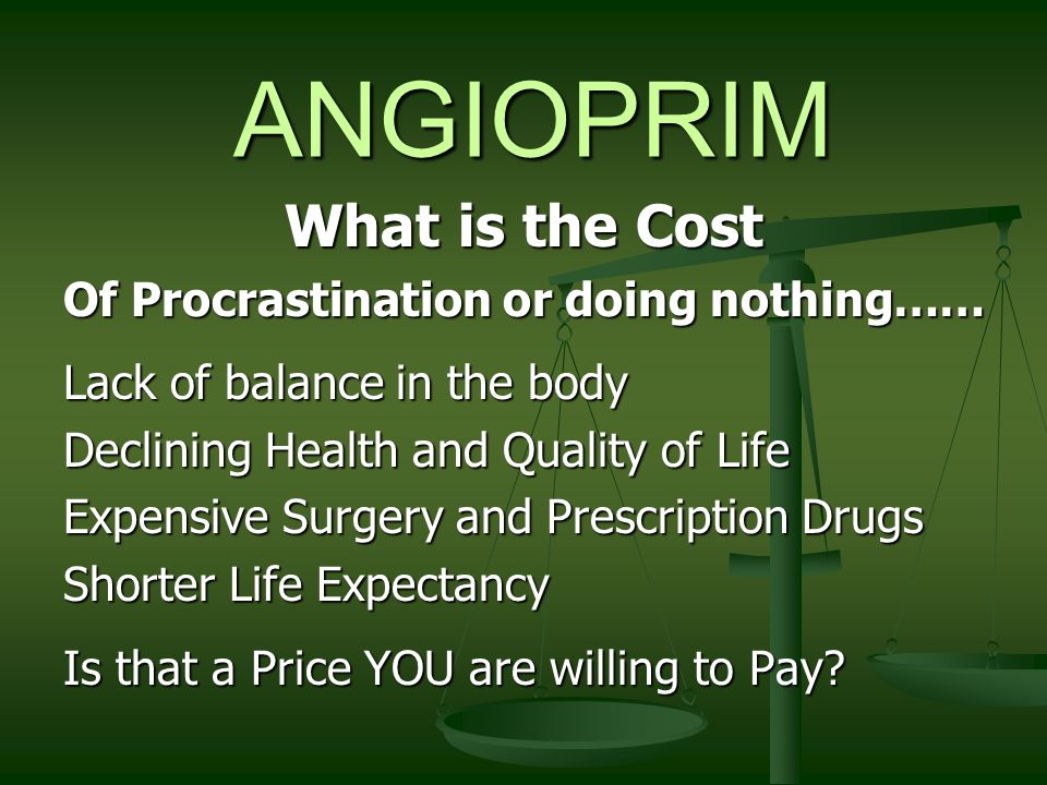 ANGIOPRIM Can also be of help for : Cardiovascular Disease Cardiovascular Disease Congestive Heart Congestive Heart Rheumatoid Arthritis Rheumatoid Arthritis Osteoporosis Osteoporosis Kidney Stones Kidney Stones Alzheimer's Alzheimer's Lupus Lupus Bone Spurs Bone Spurs Age related: Age related: Hearing Loss Hearing Loss Vision Loss Vision Loss Angina and Stroke Angina and Stroke Scleroderma Scleroderma Osteoarthritis Osteoarthritis Gallbladder Gallbladder Diabetes Diabetes Parkinson's Parkinson's Senile Dementia Senile Dementia Erectile Dysfunction Erectile Dysfunction Loss of skin tone Loss of skin tone Wrinkling and Sagging Wrinkling and Sagging