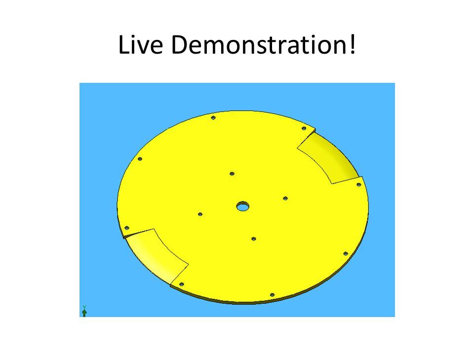 Live Demonstration!