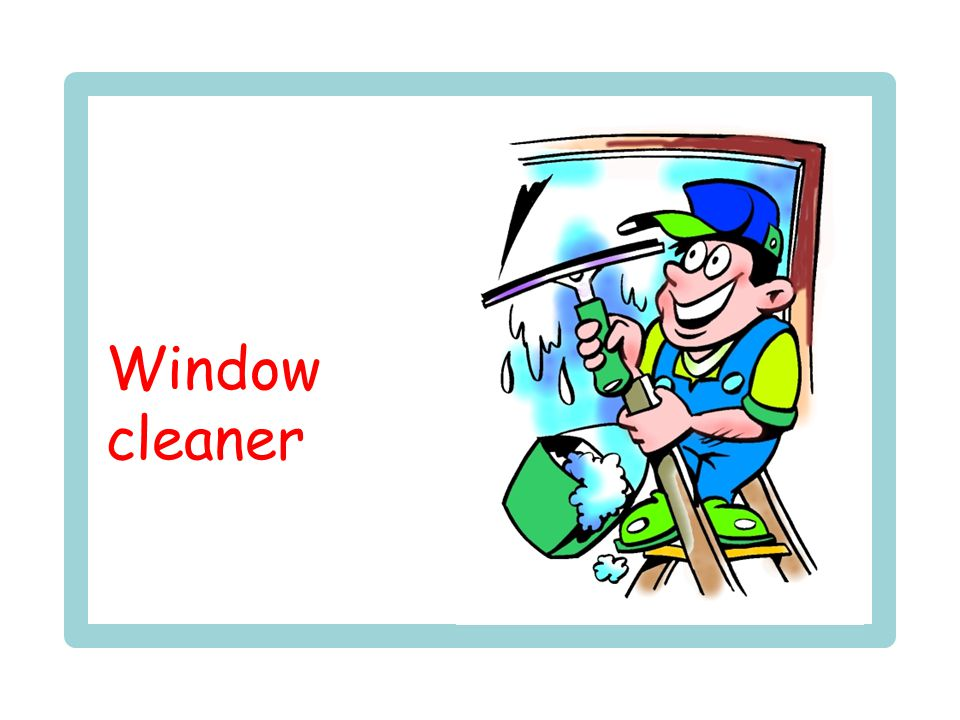 neck Window cleaner