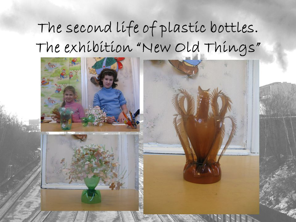The second life of plastic bottles. The exhibition New Old Things