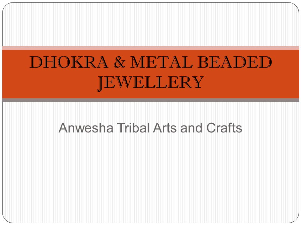 Anwesha Tribal Arts and Crafts DHOKRA & METAL BEADED JEWELLERY