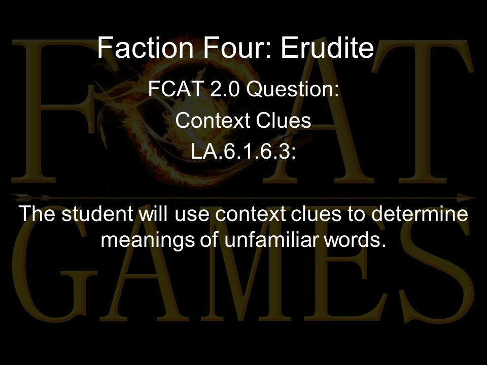 Faction Four: Erudite Which phrase best describes the main character's conflict in this passage.