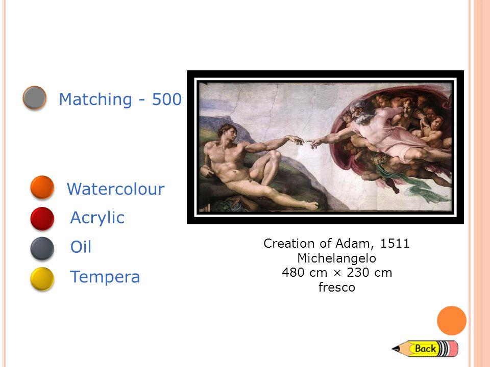 Matching - 400 Young Hare, 1502 Albrecht Durer 25 x 23 cm Watercolour Acrylic Oil Tempera