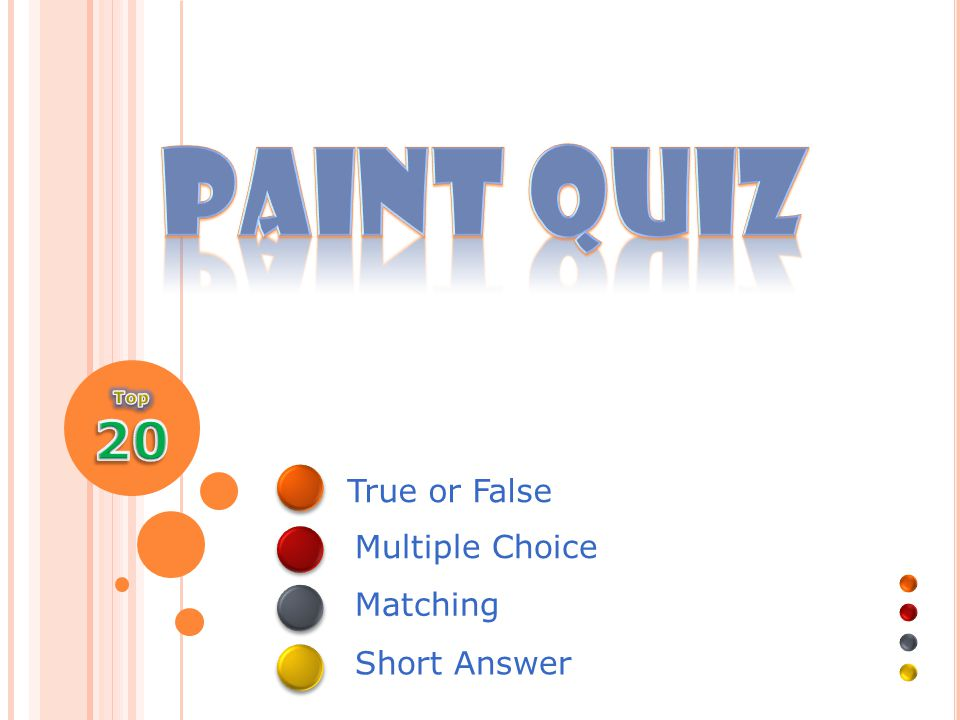 Multiple Choice - 500 This is the oldest paint medium Watercolour Acrylic Oil Tempera
