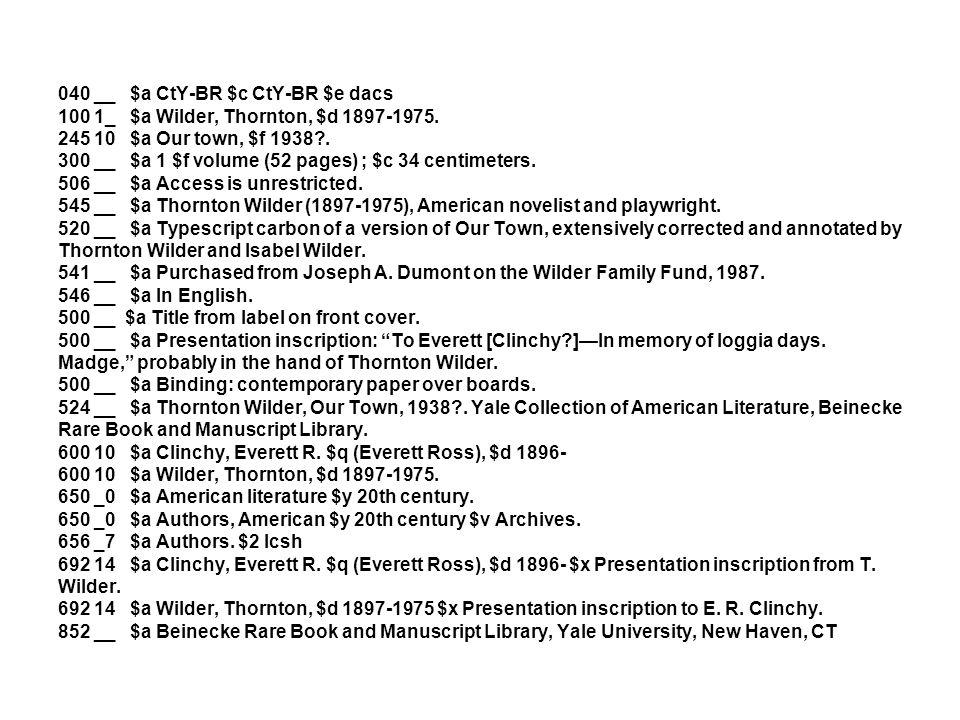 100 1_ $a Verney, Ralph, $c Sir, $d 1613-1696.245 10 $a Sir Ralph Verney diary, $f 1640 [i.e.