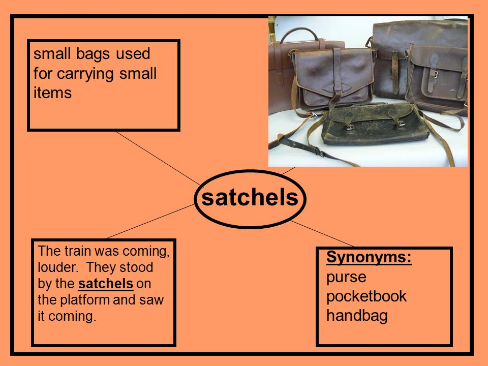 Word Association Game Word Bank Platform depot satchels jolting conductor lurching 1.