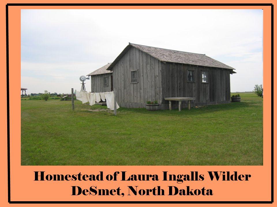 Inside of Laura Ingalls Wilder's Home