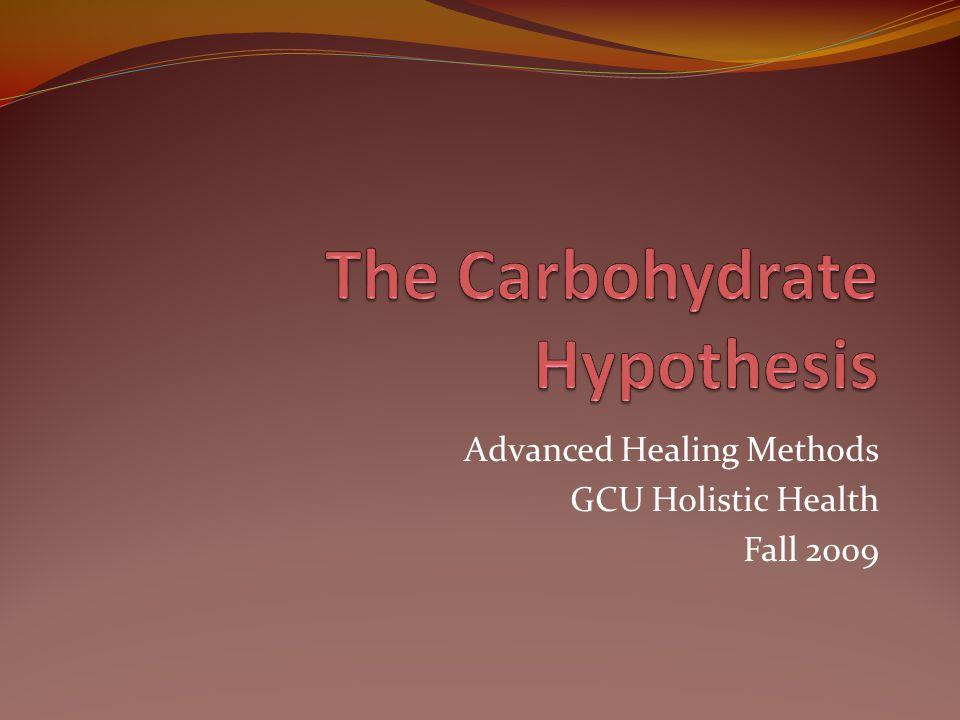 Advanced Healing Methods GCU Holistic Health Fall 2009