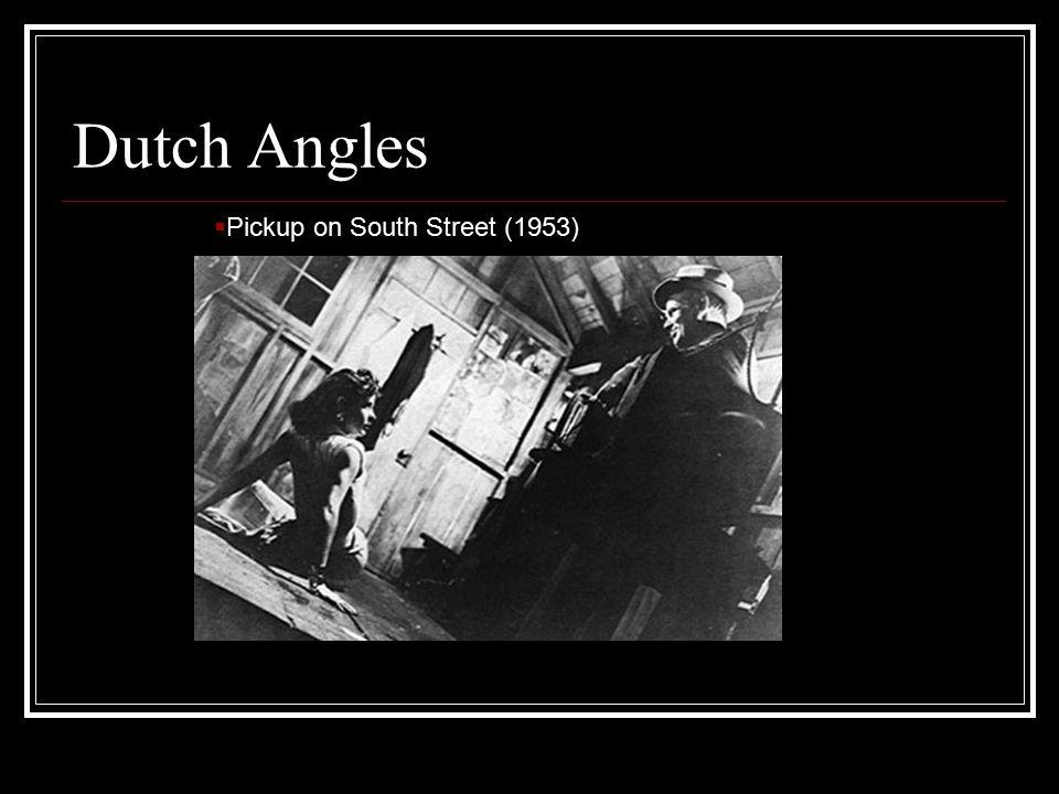 Dutch Angles  Pickup on South Street (1953)