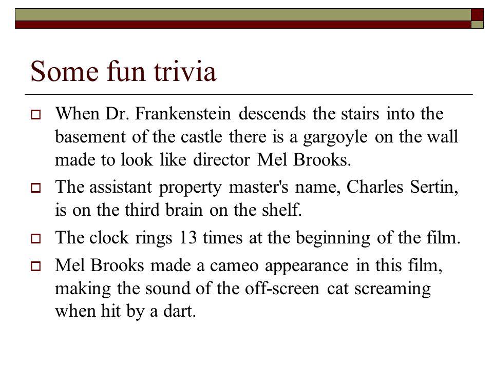Some fun trivia  When Dr.