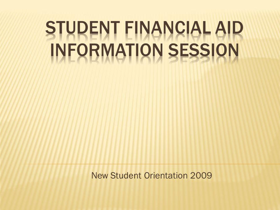 New Student Orientation 2009