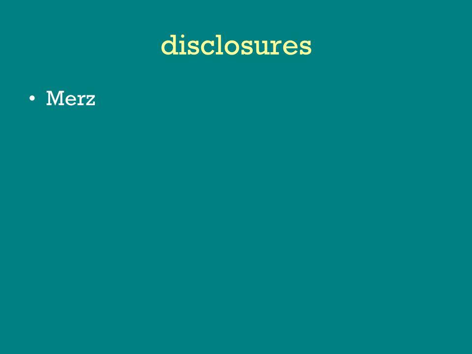 disclosures Merz