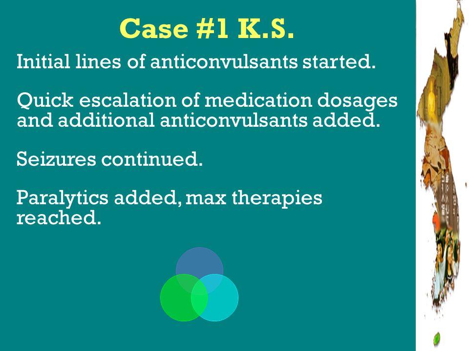 Alternative Therapies Robakis, Hirch 2006 lit review + expert neurointensivists/ epileptologists Tx included: ketamine, gammaglobulin, plasmapheresis, steroids, adrenocorticotropic hormone, high dose phenobarb, isoflurane, lidocaine, ect, ketogenic diet, hypothermia, mag