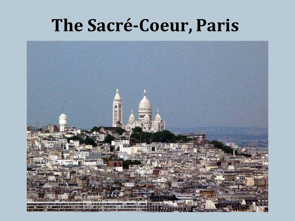 The Sacré-Coeur, Paris