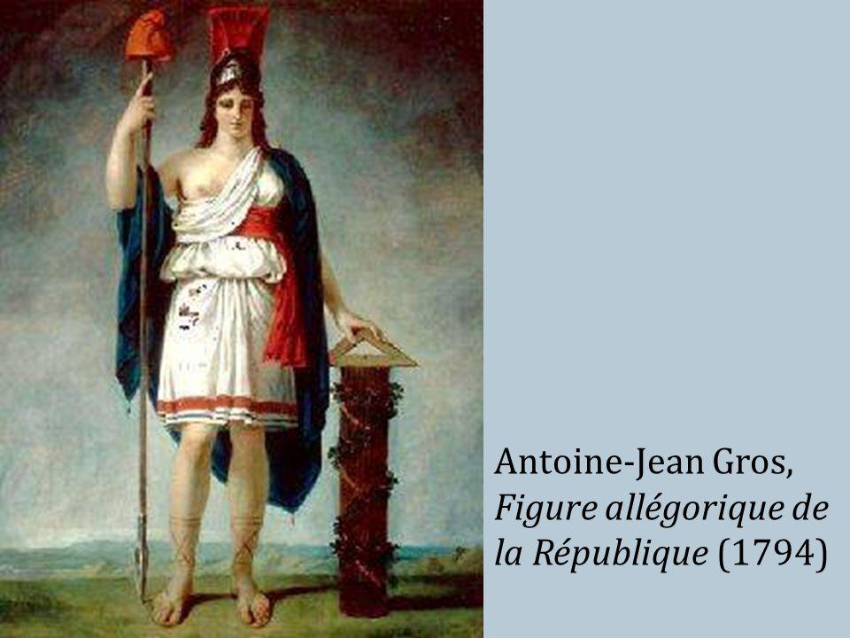 Antoine-Jean Gros, Figure allégorique de la République (1794)