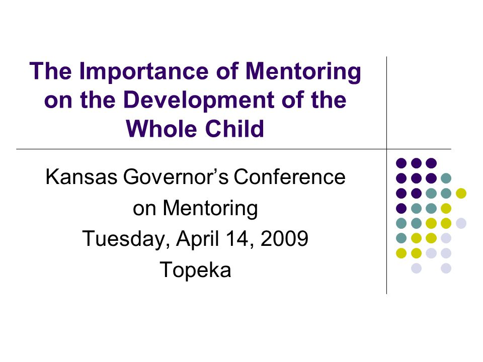 How does mentoring relate to what we are learning about child and brain development.