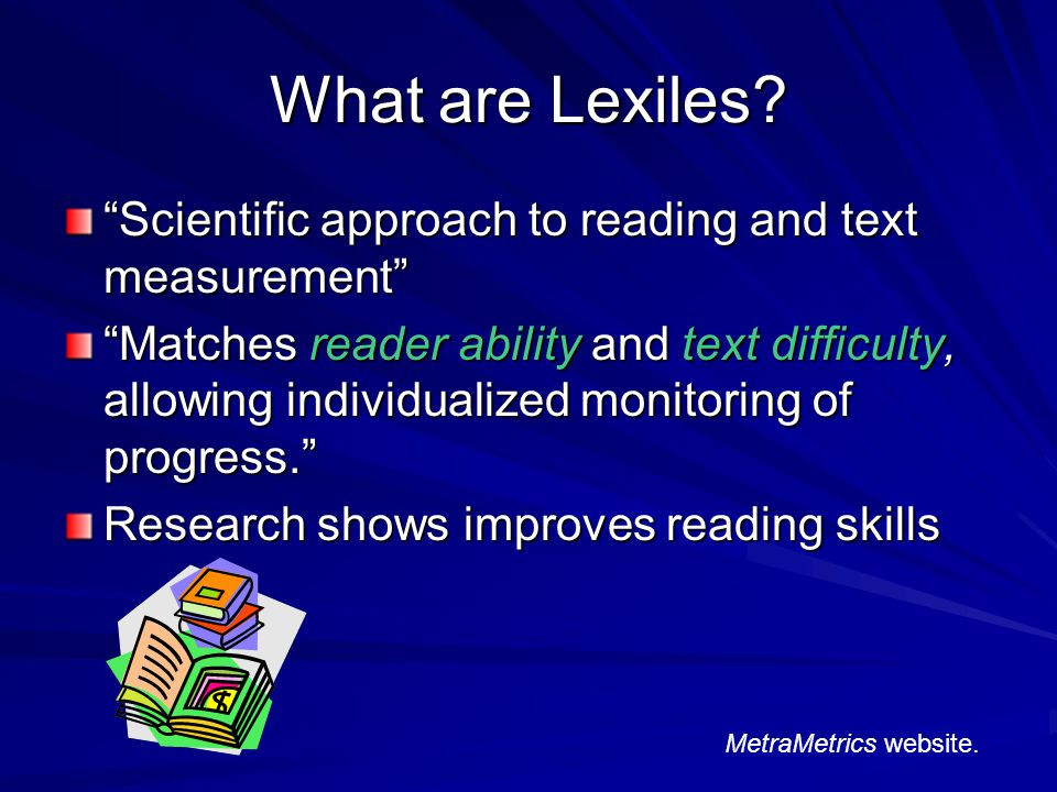Who developed Lexiles.