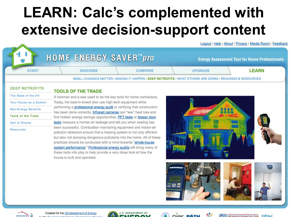 LEARN: Calc's complemented with extensive decision-support content