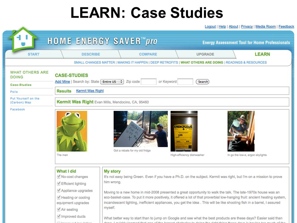 LEARN: Case Studies
