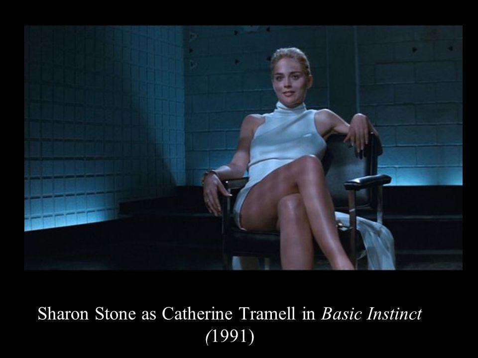 Sharon Stone as Catherine Tramell in Basic Instinct (1991)