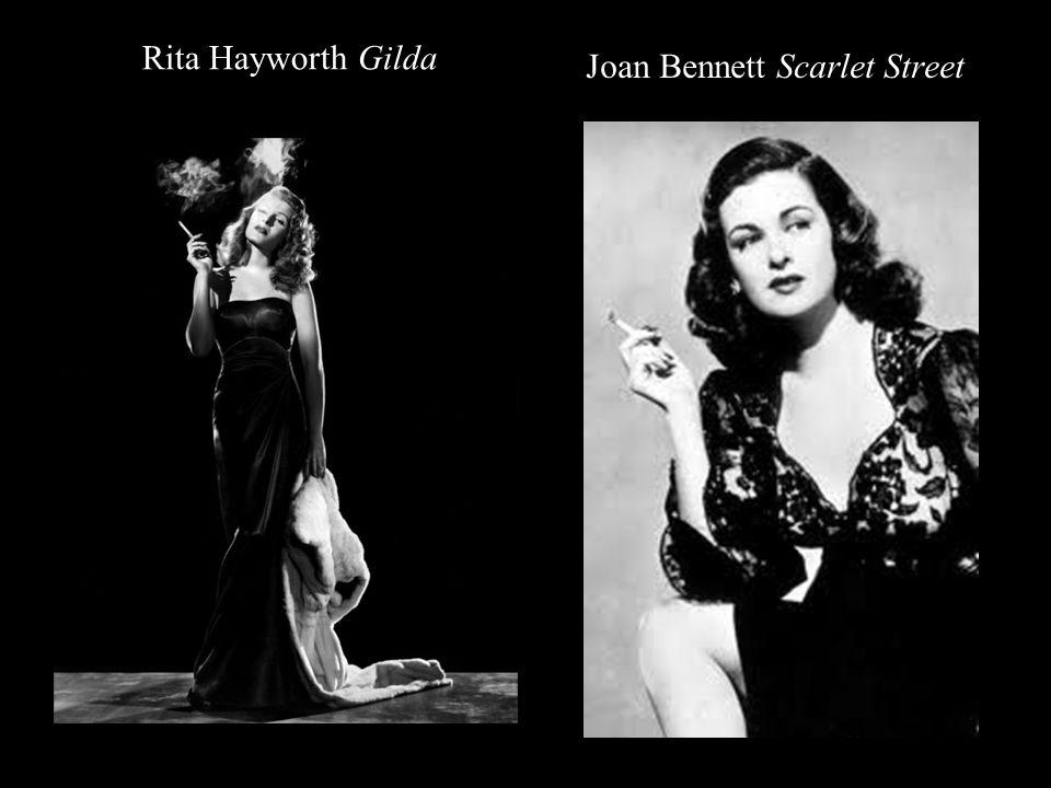 Rita Hayworth Gilda Joan Bennett Scarlet Street