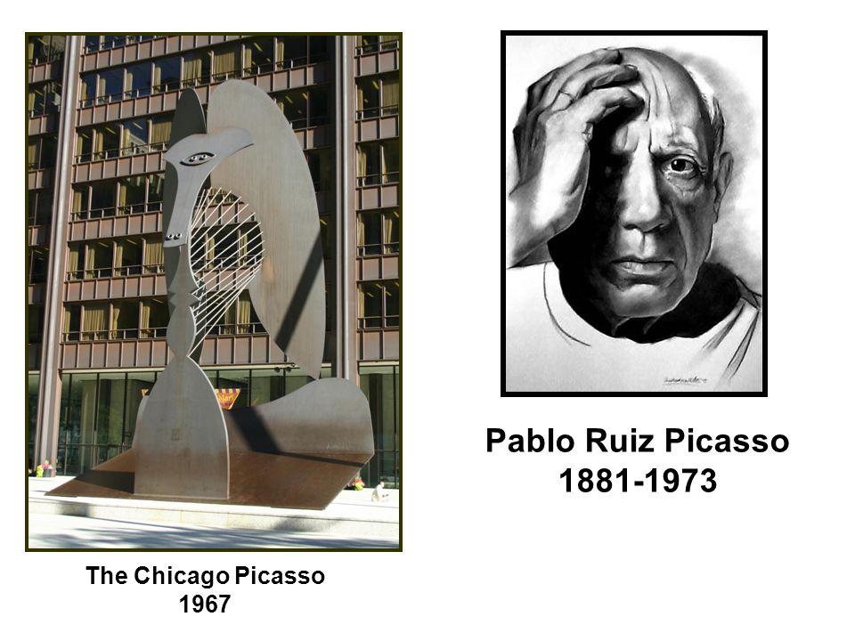 The Chicago Picasso 1967 Pablo Ruiz Picasso 1881-1973
