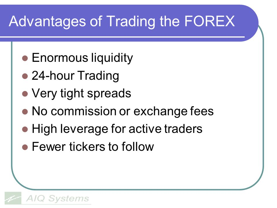 The Cost of Trading FOREX Like equities currency pairs have a bid and ask.