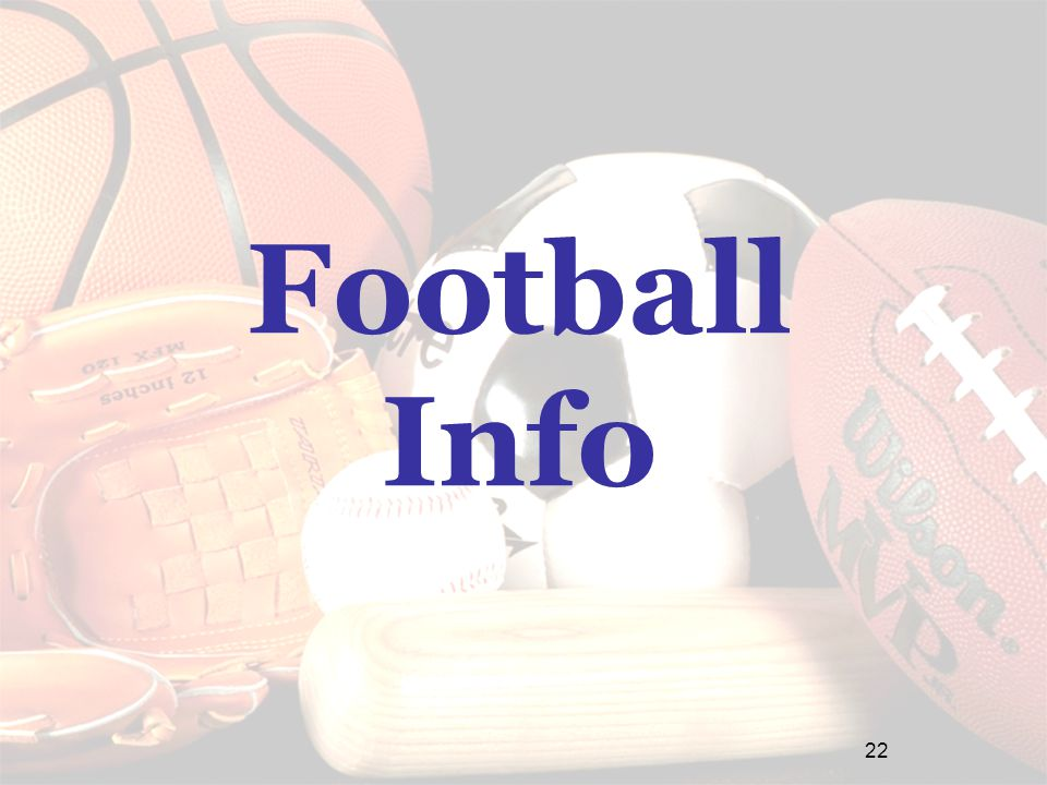 Football Info 22
