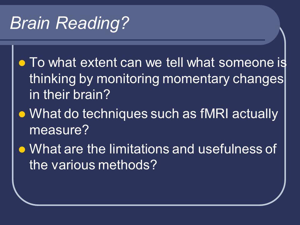 Brain Reading.