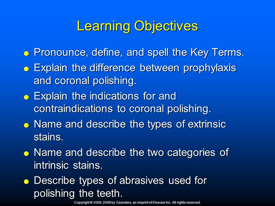 Learning Objectives  Describe the types of abrasives used for porcelain aesthetic restorations.