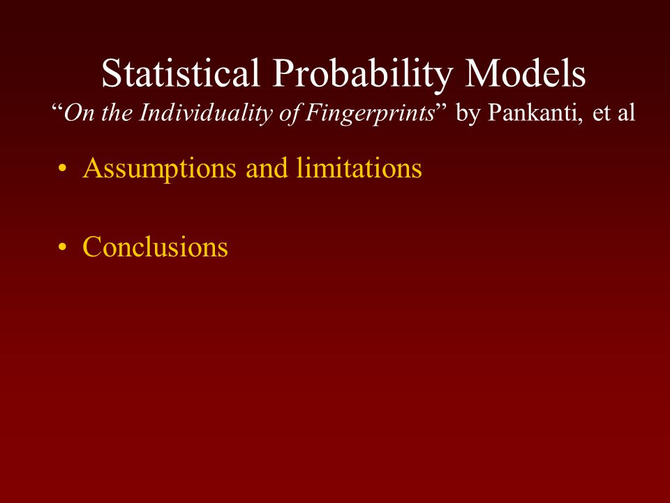 Statistics None of these studies took into account the qualitative aspects of the comparative process.