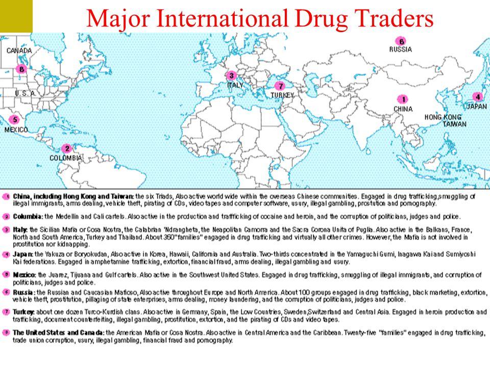 Major International Drug Traders