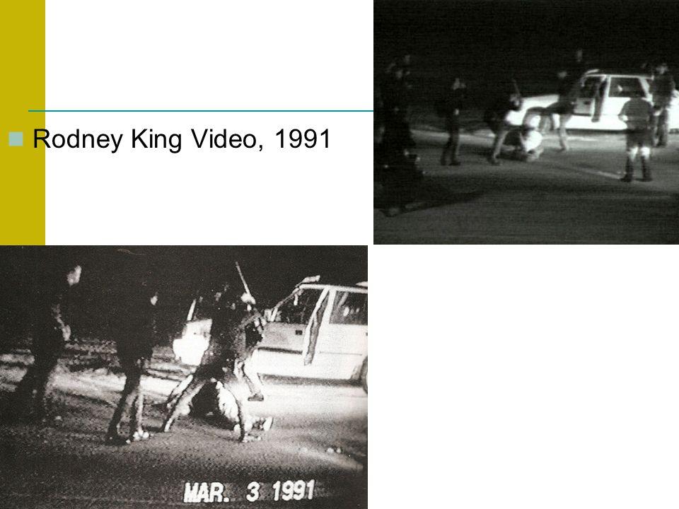 Rodney King Video, 1991