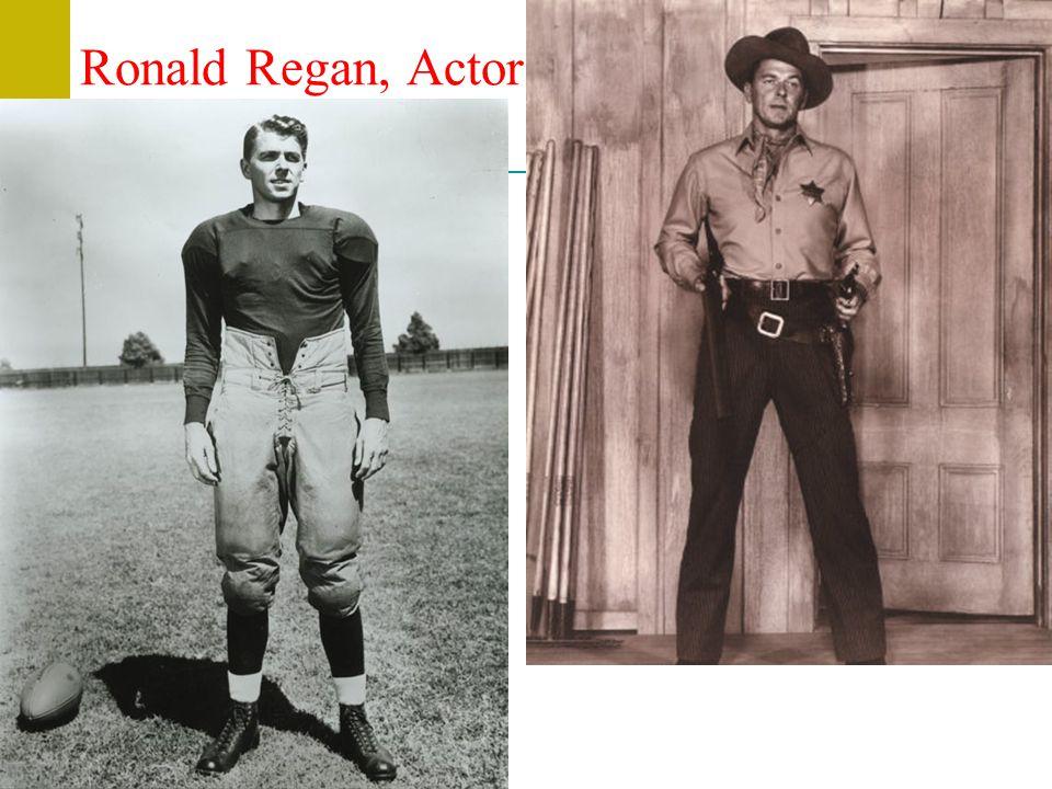 Ronald Regan, Actor